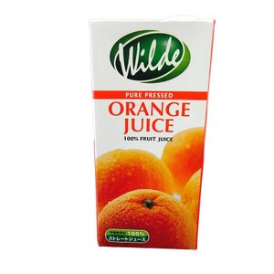 ワイルド ストレートジュース オレンジ 1000ml