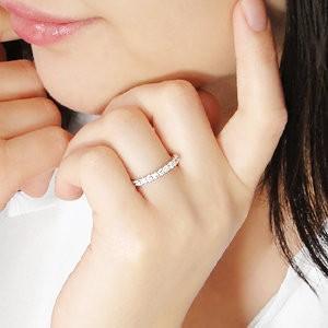 ダイヤモンド リング 指輪 プラチナ 0.5ct ダイヤモンドリング エタニティ シンプル 可愛い CSR0254-pt|classicchess|03