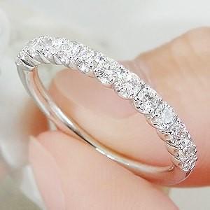 ダイヤモンド リング 指輪 プラチナ 0.5ct ダイヤモンドリング エタニティ シンプル 可愛い CSR0254-pt|classicchess|04