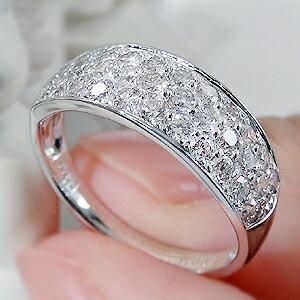 ダイヤモンド リング プラチナ pt950 パヴェ 指輪 エタニティ 1カラット 1.0ct 豪華 フラット ダイヤ ダイヤリング CSR0264-pt|classicchess|04