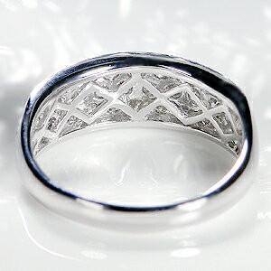 ダイヤモンド リング プラチナ pt950 パヴェ 指輪 エタニティ 1カラット 1.0ct 豪華 フラット ダイヤ ダイヤリング CSR0264-pt|classicchess|05