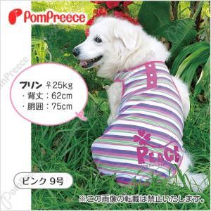 【40%OFF】【大型犬用服】クール加工付きポンポボーダーパイルトップ 7号|classy