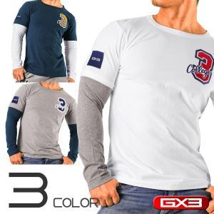 GX3/ジーバイスリー WEAR IVY LEAGUE カレッジ ロングTシャツ