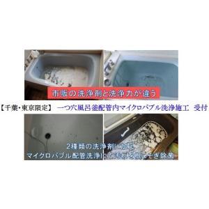一つ穴風呂釜配管マイクロバブル洗浄 cleanbuyshop