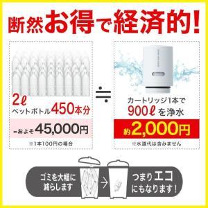 [HGC9S2--2]HGC9S 2本セット 訳あり品 三菱ケミカル クリンスイ 蛇口直結型 浄水器 cspシリーズ 交換カートリッジ 浄水器カートリッジ|cleansui|03