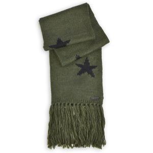 コーチ COACH スター インタルジア スカーフ アウトレット F86021 EAX(ミリタリー×ブラック)|clear