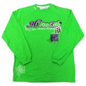 96 NORTH/メンズ ロング ロゴTシャツ|clear