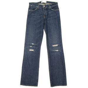 ペーパーデニム&クロス/paperdenim&cloth メンズ デニムパンツ ジーンズ SLM Slim 5 Straight 2-SLM-22 Drifter 31インチ 45034|clear