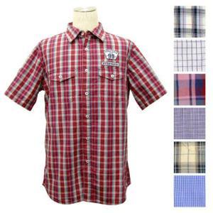 ペーパーデニム&クロス シャツ paperdenim&cloth メンズ シャツ 半袖 チェック|clear