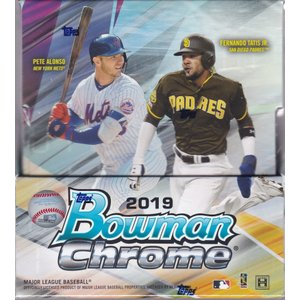 MLB 2019 BOWMAN CHROME HOBBY 1BOX(12パック入り)|clearfile