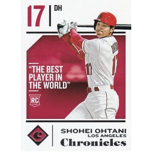 PANINI 2018 Chronicles 大谷翔平 30 ルーキーカード|clearfile