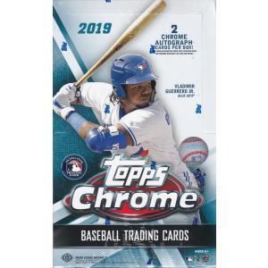 MLB 2019 TOPPS CHROME BASEBALL HOBBY 1BOX(24パック入り)|clearfile