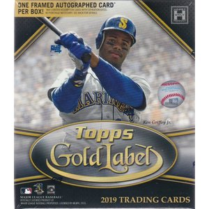 MLB 2019 TOPPS GOLD LABEL BASEBALL 1BOX(7パック入り)|clearfile