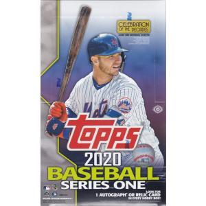 MLB 2020 TOPPS SERIES 1 BASEBALL HOBBY 1BOX(24パック入り)+シルバーパック(1パック)|clearfile
