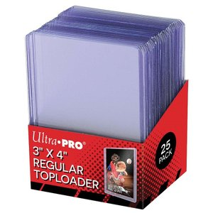 Ultra・PRO ウルトラプロ トップローダー クリア 25枚入り