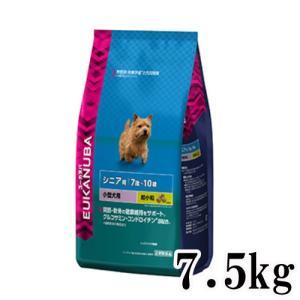 プレミアムドッグフード ユーカヌバ 7歳〜10歳用 シニア 小型犬種 超小粒 7.5kg ドライフード