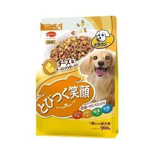 日本ペットフードとびつく笑顔 チーズ粒入り900g