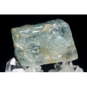 ブラジル産 天然ブルートパーズ 結晶石 【BLUTOPAZ-CK14】|clearstones