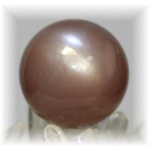 インド産ブラウンムーンストーン丸玉 【BROWNMOONSTONE-03】|clearstones