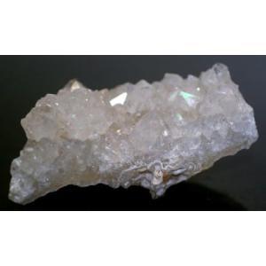 天然レインボークォーツ クラスター 【IRIDESCENCEQUARTZ-15】|clearstones