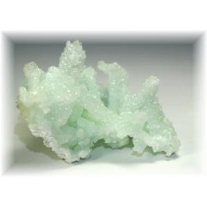 インド産プレナイト結晶石 【PREHNITE-K01】|clearstones
