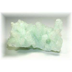 インド産プレナイト結晶石 【PREHNITE-K03】|clearstones
