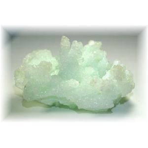 インド産プレナイト結晶石 【PREHNITE-K05】|clearstones