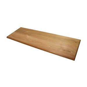 無垢のウッドシェルフボード ワトコオイル仕上げ W60cmxD20cm×厚み1.5cm|cleebs