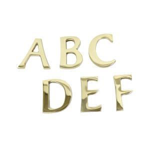 商品コード:bl0455caaf  真鍮のレターアルファベット大文字です。 45mmで大きいサイズで...