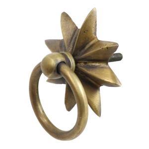 アンティーク調真鍮製つまみS|cleebs
