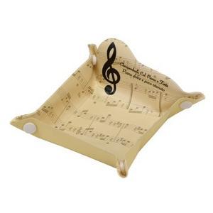 [在庫処分セール30%off] グラーヴェ ト音記号  グランドピアノ マルチトレイ(楽譜) 2個セット|clefgifts