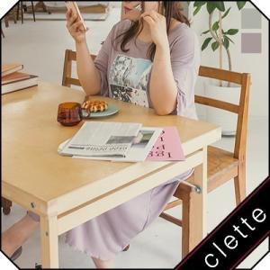 大きいサイズ レディース cletteオリジナル★ルームウェアフォトプリントTシャツワンピース clette-online