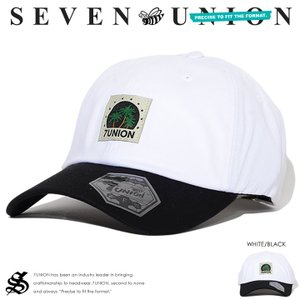 7UNION セブンユニオン キャップ 帽子 レザーストラッ...
