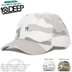 10DEEP テンディープ ローキャップ 帽子 アジャスター...