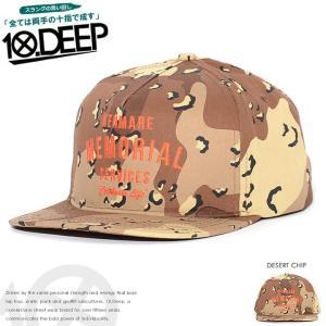 10DEEP テンディープ キャップ 帽子 スナップバック ...