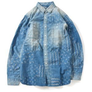 Patchwork Jacket in Indigo Patches Jackets
