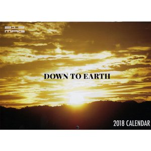 212 MAGAZINE トゥートゥエルブマガジン 212 MAG DOWN TO EARTH 2018 CALENDAR
