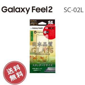 Galaxy Feel2 SC-02L 保護フィルム 画面保護 ガラスフィルム 日本品質 マット 反射防止 ギャラクシー GalaxyFeel2SC-02L メール便送料無料|clicktrust