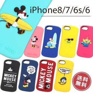 iPhone8 iPhone7 iPhone6s iPhone6 シリコンケース アイフォン ケース カバー ディズニー ミッキー ミニー メール便送料無料|clicktrust