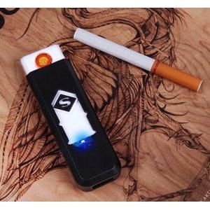 USB充電式 電子ライターです。  環境に優しい電子ライターです このライターは、充電式バッテリーで...