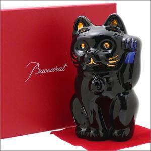Baccarat(バカラ) CRYSTAL 招き猫 NAVY 290-001371-011x【新品】...