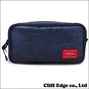 Fragment Design x HEAD PORTER Cosmetic Case [ポーチ] INDIGO 274-000671-017x(新品)|cliffedge