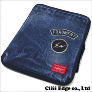 Fragment Design x HEAD PORTER iPad Case [ケース] INDIGO 274-000672-017x(新品)|cliffedge