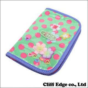 fafa DOT DIARY CASE S [ダイアリーケース][母子手帳ケース] GREENxPINK DOT 274-000660-035x(新品)|cliffedge