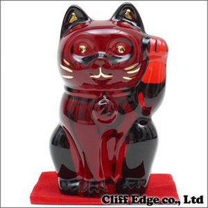 Baccarat CRYSTAL 招き猫 RED 290-002345-013+(新品)|cliffedge