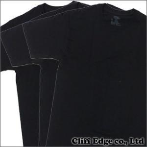 (新品)SUPREME (シュプリーム) x Hanes Tagless Tee 3-pack(Tシャツ3枚セット) BLACK 200-005622-031