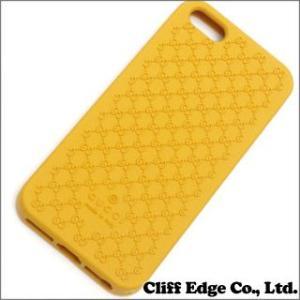 (新品) GUCCI iPhone5/5S ラバーケース YELLOW 274-000790-019 798592849|cliffedge