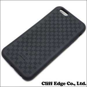 (新品) GUCCI グッチ バイオプラスチック iPhone6 ケース BLACK 273-000071-011 (グッズ)|cliffedge