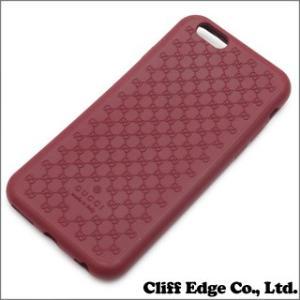 (新品) GUCCI グッチ バイオプラスチック iPhone6 ケース RED 273-000071-014 (グッズ)|cliffedge