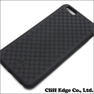 (新品) GUCCI グッチ バイオプラスチック iPhone6 Plus ケース BLACK 273-000070-011 (グッズ)|cliffedge